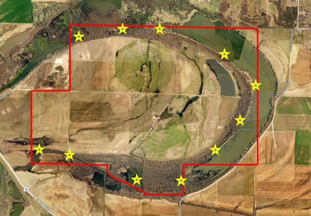Maps Quacker Trackers Hunting Club - Hunting aerial maps